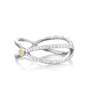 Tacori The Ivy Lane Pavé Trellis Ring SR208_10