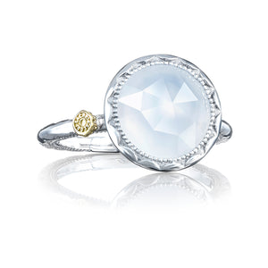 Tacori Crescent Bezel Ring featuring Chalcedony sr22203