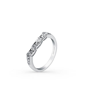 KirkKara Charlotte  Diamond Wedding Band SS6223-BS