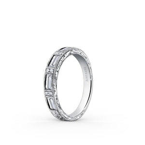 KirkKara Charlotte  Diamond Wedding Band SS6685D-B