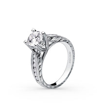 Load image into Gallery viewer, KirkKara Stella Round Diamond Diamond Engagement Ring