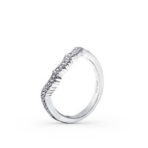 KirkKara Pirouetta, most prized creations  Diamond Wedding Band SS6860-B