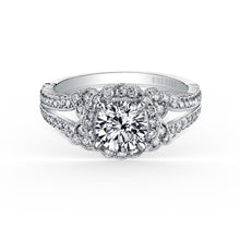 Load image into Gallery viewer, KirkKara Pirouetta Round Diamond Diamond Engagement Ring