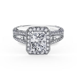 KirkKara Carmella Radiant Diamond Diamond Engagement Ring