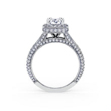 Load image into Gallery viewer, KirkKara Carmella Radiant Diamond Diamond Engagement Ring