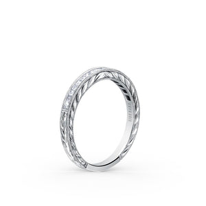 KirkKara Carmella  Diamond Wedding Band SS6996-B