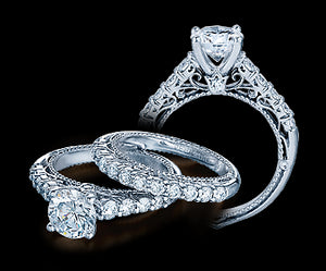 Verragio Venetian Round Diamond Engagement Ring (0.50 CTW)