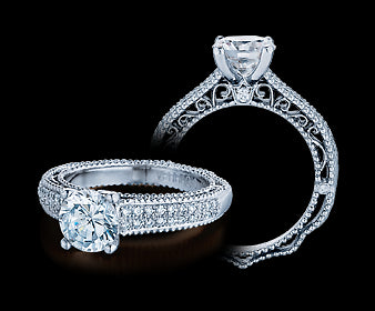 Verragio Venetian Round Diamond Engagement Ring (0.25 CTW)