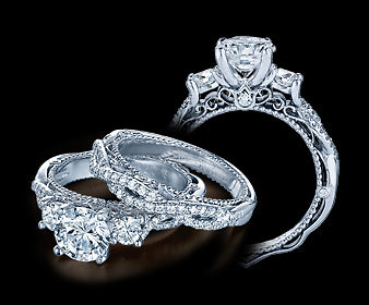 Verragio Venetian Round Diamond Engagement Ring (0.45 CTW)