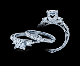 Verragio Venetian Princess Diamond Engagement Ring (0.75 CTW)