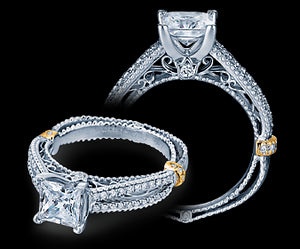Verragio Venetian Princess Diamond Engagement Ring (0.35 CTW)
