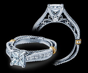 Verragio Venetian Princess Diamond Engagement Ring (0.60 CTW)
