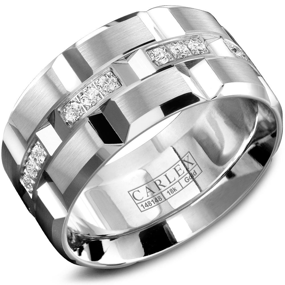 CARLEX G1 Mens Wedding Band WB-9166