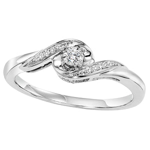 14K Diamond Ring (0.07 CTW)