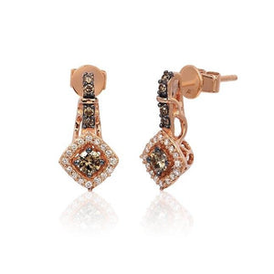 Le Vian® Chocolate by Petite Le Vian® Diamond Earring (0.48 CTW)