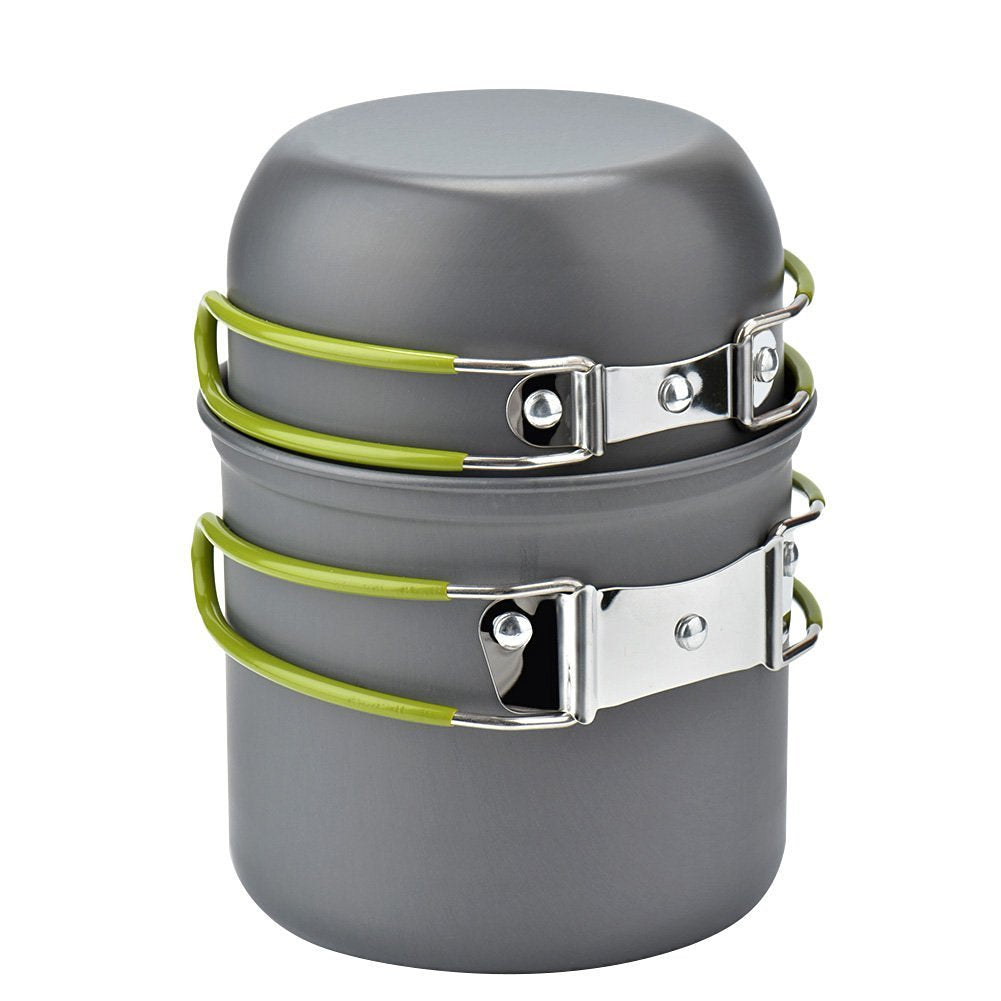 Camping Pot and Pan Set