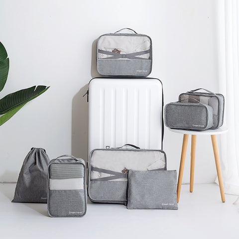 Packing Cubes - 7 piece set