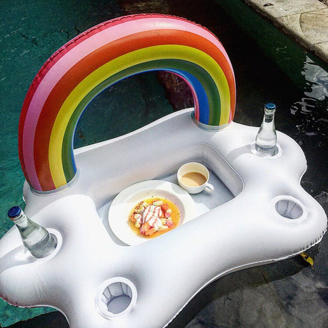 Floating Rainbow  Pool Tray