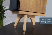 Load image into Gallery viewer, The Drunken Snipe Hardwood Speaker Stands (Pair)
