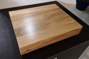 Pelican Isolation Plinth Range - 65mm Thick Solid Oak Hardwood - AUDIO CHIC