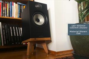 Bowers & Wilkins 606 Speaker Stands Solid Oak