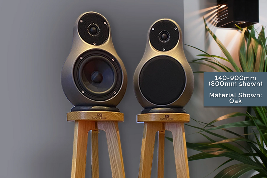 800mm Jern Speaker Stands With Rubber Ring