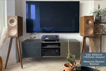 Load image into Gallery viewer, KEF R3 Speaker Stands made from Black American Walnut