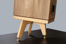 Load image into Gallery viewer, The Drunken Snipe Tri-Leg Bookshelf Speaker Stands 120mm (Pair) - AUDIO CHIC