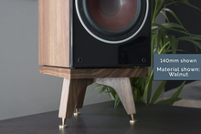 Load image into Gallery viewer, 140mm Speaker stand for monitor loudspeakers
