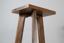 Load image into Gallery viewer, The Heron Tripod Hardwood Bookshelf Speaker Stands 700mm (Pair) - AUDIO CHIC