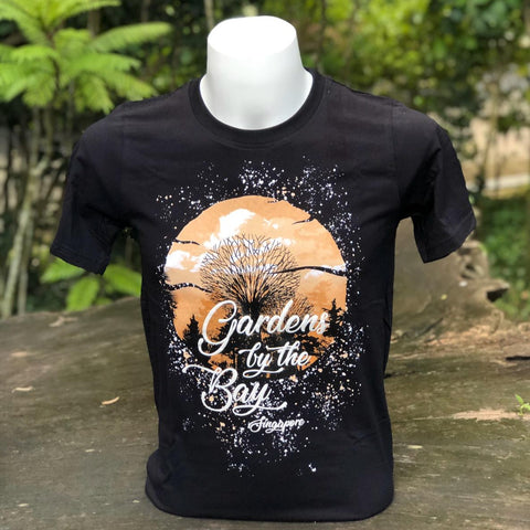Merchandise Collection - Ready to Wear - Family T-Shirt - Supertrees Splatter Mens T-Shirt (Black)