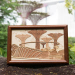 Gardens by the Bay - Arch Collection - 11.5 X 17.5CM CONNECTS TO THE WORLD FRAME