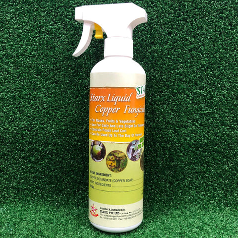 Gardens by the Bay - Gardening Supplies - STARX Liquid Copper Fungicide Spray (500ml)-Cropped
