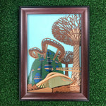 Gardens by the Bay - Merchandise Collection - Decoratives - Sustainable Wood  Decoratives - 21.5 x 29 cm Gardens by the Bay Cloud Forest Frame