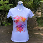 Merchandise Collection - Ready to Wear - Family T-Shirt - Scenery Watercolor Ladies T-Shirt (White)