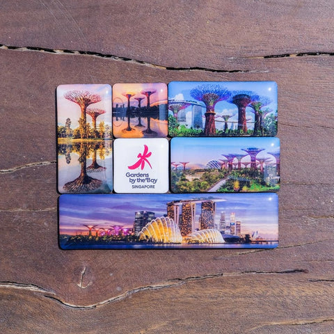 Gardens by the Bay - Gardens by the Bay Magnet Collection - SCENERY PUZZLE MAGNET