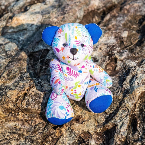 Gardens by the Bay - GARDENS BY THE BAY BRAND PATTERN KIDS COLLECTION - BRAND PATTERN MEDIUM TEDDY (MYSTICAL)