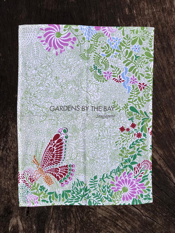 Gardens by the Bay -  Merchandise Collection - Home Ware - Household - Butterfly Tea Towel