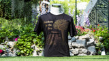 Gardens by the Bay - Family T-Shirt Collection - CITY IN A GARDEN GOLD MEN'S T-SHIRT (BLACK)