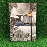 Gardens by the Bay - Merchandise Collection - Stationeries - Sustainable Wood Stationeries - City in a Garden A5 Notebook