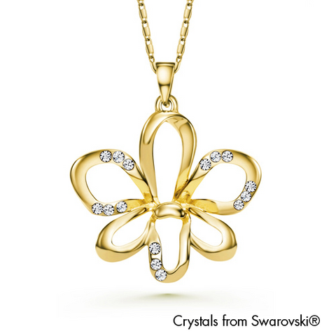 Gardens by the Bay - Costume Jewellery Collection - Dendrobium Necklace made with SWAROVSKI® Crystals