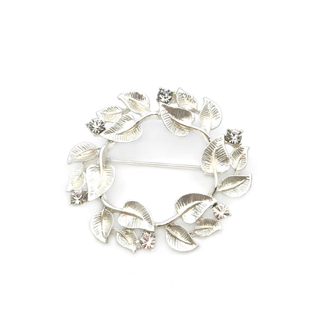 Gardens by the Bay - Fashion Costume Jewellery - Entwined Foliage Brooch