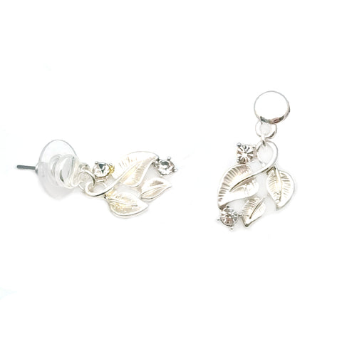 Gardens by the Bay - Fashion Costume Jewellery - Entwined Foliage Earrings