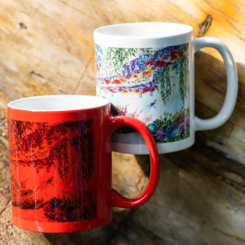 Gardens by the Bay - Merchandise Collection - Home Ware - Household - Floral Fantasy Colour Changing Mug