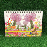 Gardens by the Bay - Merchandise Collection - Stationeries - Sustainable Wood Stationeries - Fairyland Gardens A5 Notebook