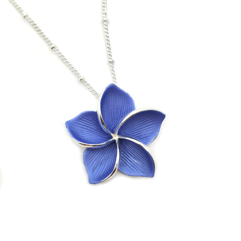 Gardens by the Bay - Fashion Costume Jewellery - Frangipani Necklace