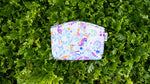 Mrtwbp Gardens By The Bay Brand Pattern Small Cosmetic Pouch (Mystical)