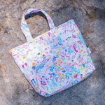 Gardens by the Bay - Gardens by the Bay Brand Pattern Collection - GARDENSBYTHEBAYBRANDPATTERNTOTEBAG_MYSTICAL