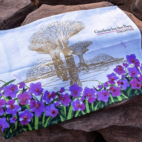 Gardens by the Bay - Household Collection - GARDENS BY THE BAY TEA TOWEL