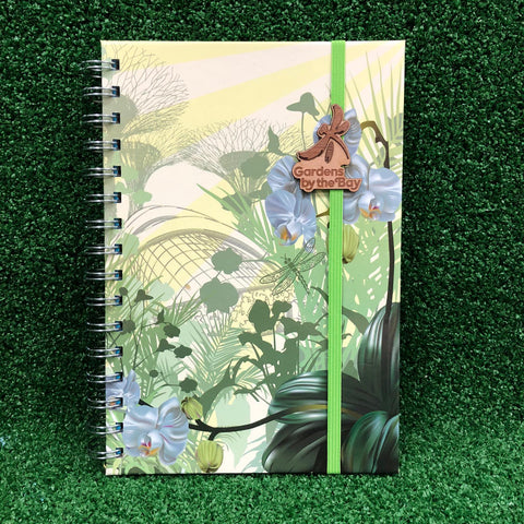 Mssws Gardens with Sun Ray A5 Notebook